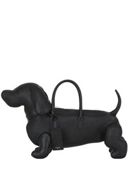 Thom Browne Dog Shaped Pebbled Leather Bag
