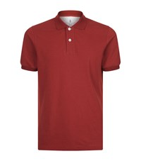 Brunello Cucinelli Slim Fit Polo Shirt Male Red