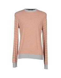 Mas_Q Knitwear Jumpers Men Orange