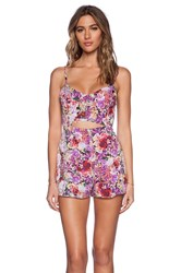 Lucca Couture Romper Pink