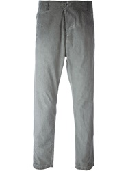Transit Faded Regular Fit Trousers Grey
