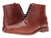 Crosby Square Conroy Cognac Men's Lace Up Boots Tan
