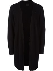 Rta Mid Open Cardigan Black