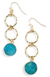 Women's Panacea Drusy Drop Earrings