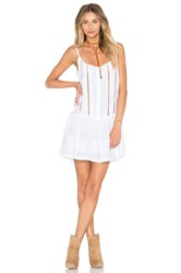 Cleobella Palermo Short Dress White