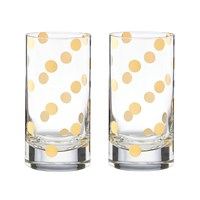 Kate Spade Pearl Place Hiball Tumblers Set Of 2