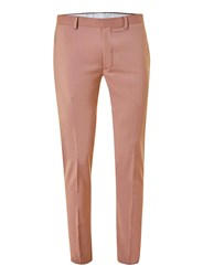 Topman Stucco Pink Ultra Skinny Fit Suit Trousers