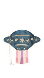 Charlotte Olympia Beam Me Up Cross Body Clutch Multi