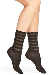 Women's Hue Tiered Ruffle Socks