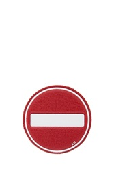 Anya Hindmarch No Entry Sticker Red