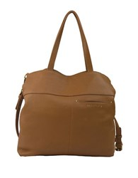 Sanctuary Flora Leather And Suede Tote Honey