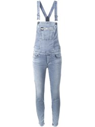 Diesel Skinny Jeans Overall Jumpsuit Blue