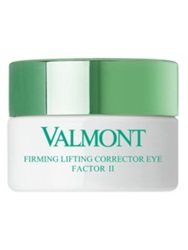 Valmont Firming Lifting Corrector Eye Factor Ii Lifting And Firming Eye Cream 0.51 Oz. No Color