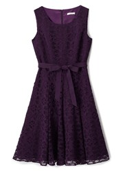 Precis Petite Lace True Prom Dress Purple