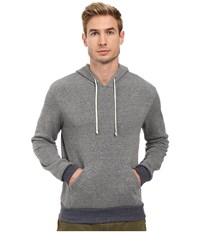 Alternative Apparel Hoodlum Pullover Hoodie Eco Grey Eco True Navy Men's Long Sleeve Pullover Gray