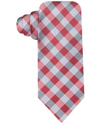 Ryan Seacrest Distinction Ryan Seacrest Distintion Melrose Gingham Slim Tie Red