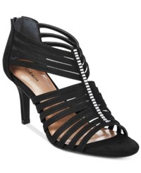 Styleandco. Style Co. Shaynaa Embellished Evening Pumps Only At Macy's Women's Shoes Black