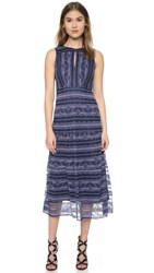 Nanette Lepore Dewdrop Dress Blue Purple Multi