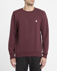 Element Red Protected Round Neck Sweatshirt