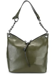 Jimmy Choo 'Raven' Tote Green
