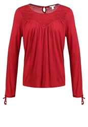 Esprit Long Sleeved Top Rot Red