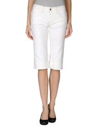 Kiton Denim Denim Capris Women