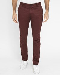 Minimum Burgundy Norden Pr Chinos