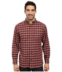 Mountain Khakis Downtown Flannel Shirt Malbec Men's Clothing Purple