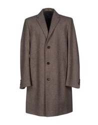 Boss Black Coats Khaki