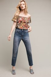 Anthropologie Levi's Wedgie Icon Ultra High Rise Jeans Tinted Denim
