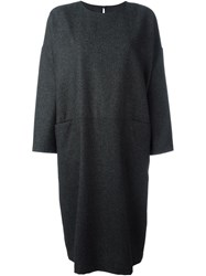 Arts And Science Oversized Longsleeved Dress Grey