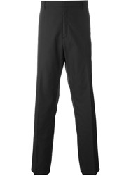 No21 Striped Side Tailored Trousers Black