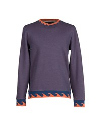 Marc By Marc Jacobs Topwear Sweatshirts Men Blue