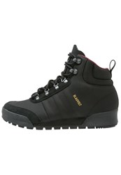 Adidas Originals Laceup Boots Clearblack Maroon Solid Grey
