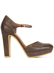 See By Chloe Mary Jane Pumps Brown