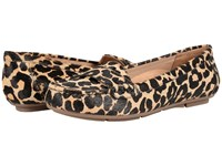 Vionic Chill Larrun Loafer Tan Leopard Women's Flat Shoes Animal Print