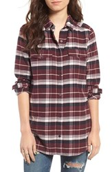 Women's Bp. Plaid Flannel Shirt