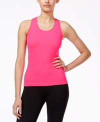 Jessica Simpson The Warm Up Rib Knit Tank Top Only At Macy's Pink Highlight