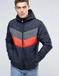 Ellesse Padded Jacket With Hood Black