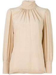 Avelon 'Jodie' Blouse Nude And Neutrals