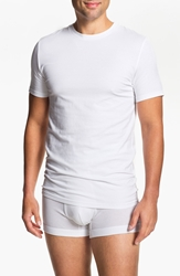 Nordstrom Trim Fit Crewneck T Shirt 4 Pack White