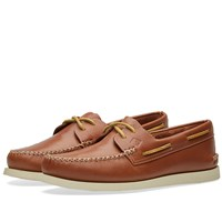 Sperry Topsider Authentic Original 2 Eye Wedge Brown