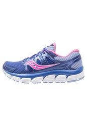 Saucony Propel Vista Cushioned Running Shoes Purple Pink