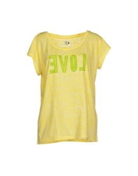 Amy Gee T Shirts Yellow