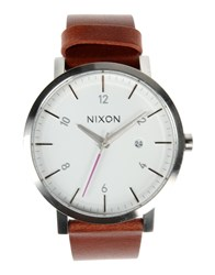 Nixon Timepieces Wrist Watches Men Brown