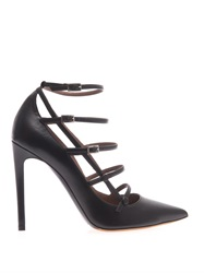Tabitha Simmons Josephina Leather Pumps