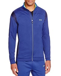 Hugo Boss Skatech Melange Track Jacket Blue
