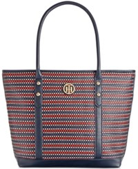 Tommy Hilfiger Hadley Woven Large Tote
