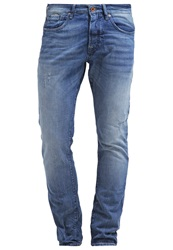 Scotch And Soda Ralston Slim Fit Jeans Denim Blue Blue Denim
