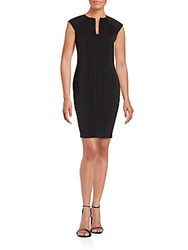 Alexia Admor Paneled Bodycon Dress Black